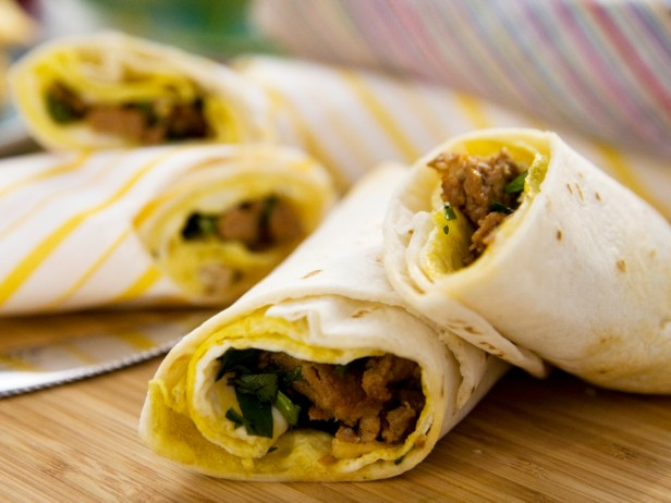 Rolled Omelet Burrito